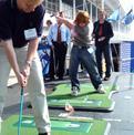 TrueStrike golf mats through its paces - TrueStrike News