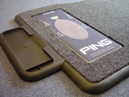 PING installs TrueStrike golf mats
