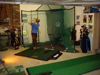 Rotanet Practice Net and TrueStrike Golf Mat