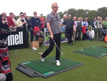 Golf Show Live 2012 - TrueStrike & TrueTee Wow The Crowd - DJ Chris Evans