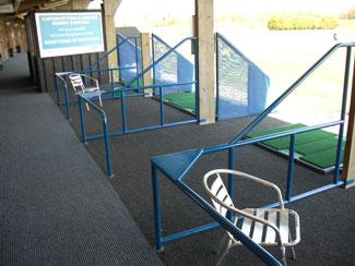 Realistic golf practice at Manston Golf Centre - TrueStrike & TrueTee Install