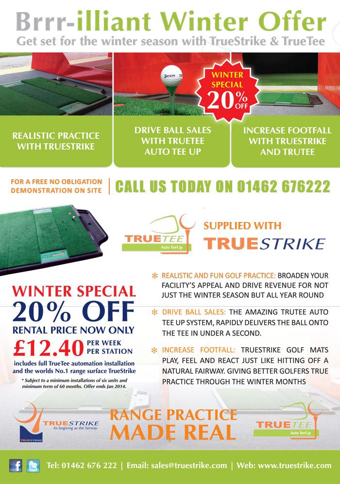 TrueStrike Winter Special 20% OFF!!