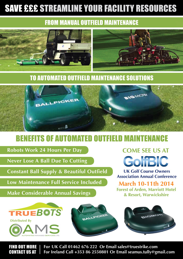 Streamline Your Resources With TrueBots Outfield Maintenance