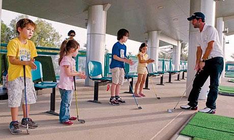 Abu Dhabi City Golf Club - TrueStrike Golf Mats