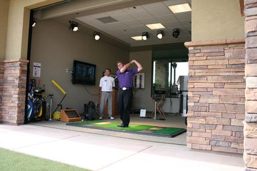 DragonRidge Country Club - Club Fitting on TrueStrike Golf Mat