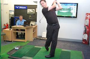Pachesham Golf Centre - Club Fitting on TrueStrike Golf Mats