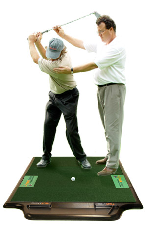 TrueStrke Golf Mat for golf Teaching Facilities and PGA Pro's