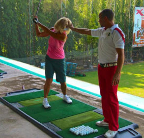TrueStrike Golf Mat Ideal Tool For PGA Coaches & Golf Academies