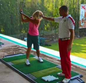 TrueStrike Golf Mat Ideal Tool For PGA Coaches & Golf Academies