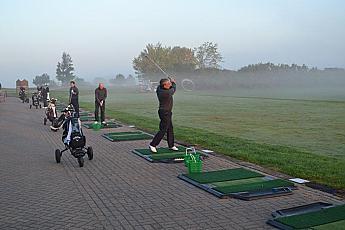 TrueStrike Single Golf Mat Continuous Golf Tee Lines