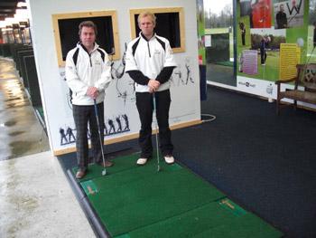 Rupert Hunter & Jamie Knight PGA