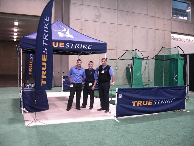 TrueStrike Golf Mats at Golf Industry Show