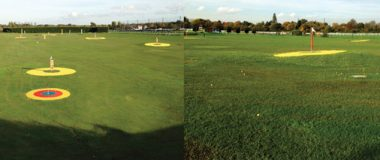 Sandown Park Golf Centre Targets Installation