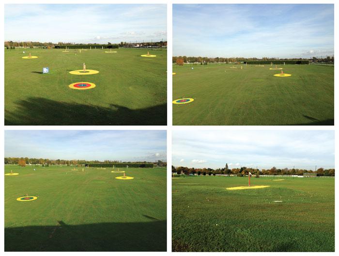 Sandown Park Golf Centre Outfield Targets