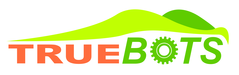 TrueBot Outfield Robots Logo
