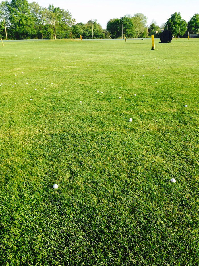Tonbridge Golf Centre Outfield - TrueBots make the difference