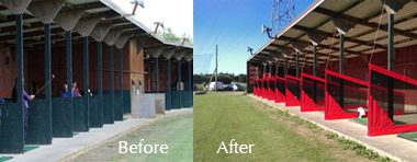 Sherdons Golf Centre Before and After