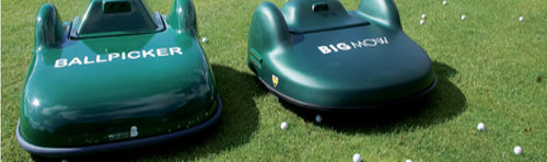 Silvermere Outfield Maintenance Robots - BigMow and Ball Picker