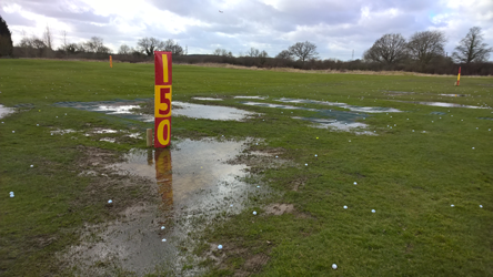 Horne Park Driving Range - Before Outfield Robots