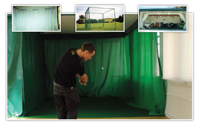 TrueStrike Facility Golf Practice Netting
