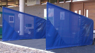 SELF SUPPORTED NETTED BAY DIVIDER
