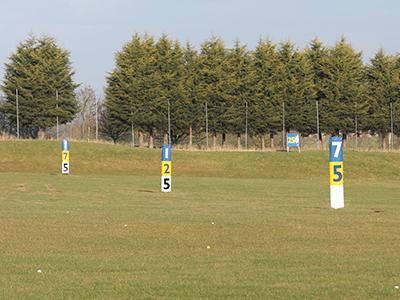 TrueStrike Outfield Targets Tower Markers