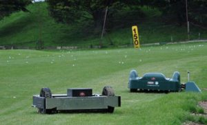 Parley Golf Centre Outfield Robots