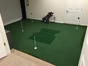Golf Rooms TrueStrike Single Golf Mat