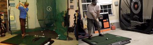 TrueStrike Golf Mats With Golf Practice Net