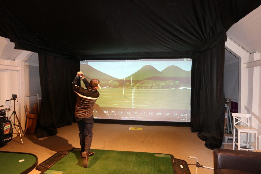 Indoor Golf Studios - Weath Heath Golf Club featuring TrueStrike golf mat
