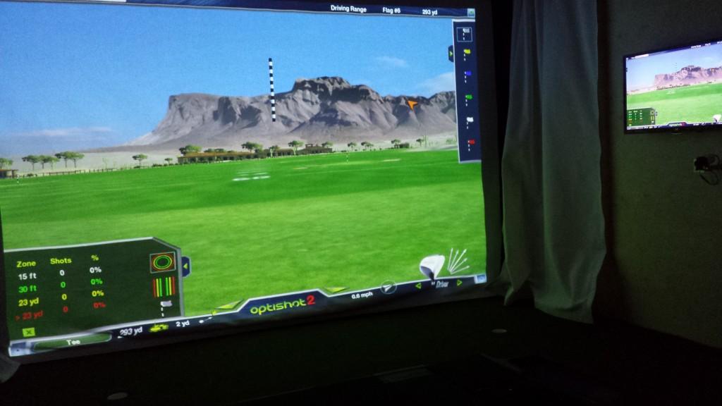 Indoor Golf Studios - Killwinning Golf Centre featuring TrueStrike Golf Mat