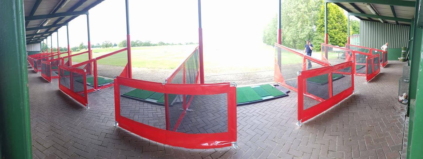 New look Driving Range at Cocken Lodge Golf Course