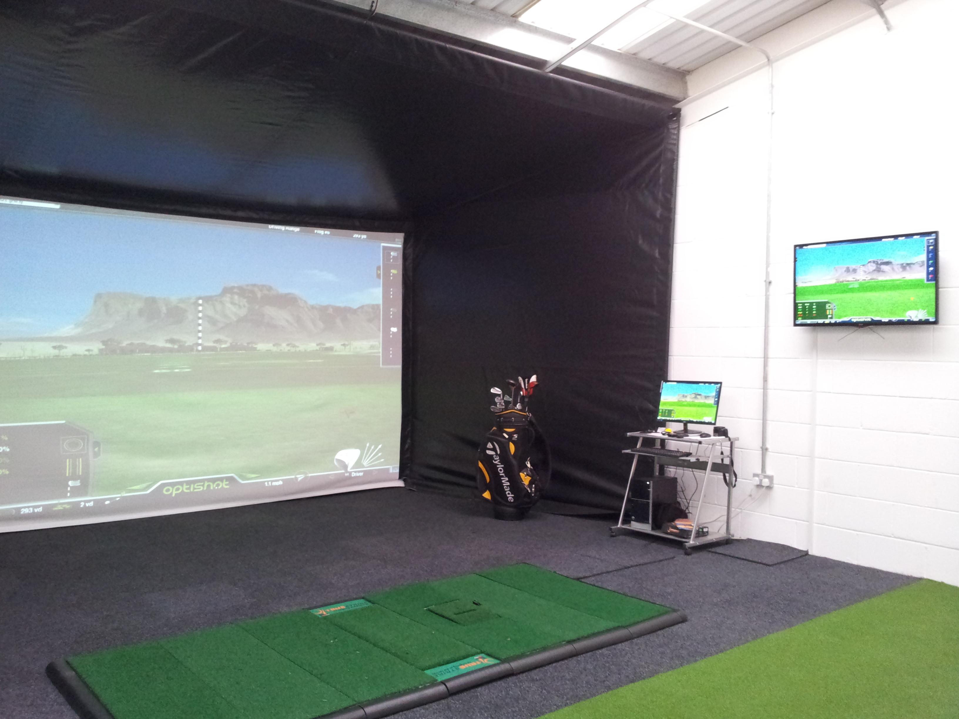 Optishot 2 Golf Simulator with TrueStrike - Christmas Gift Idea