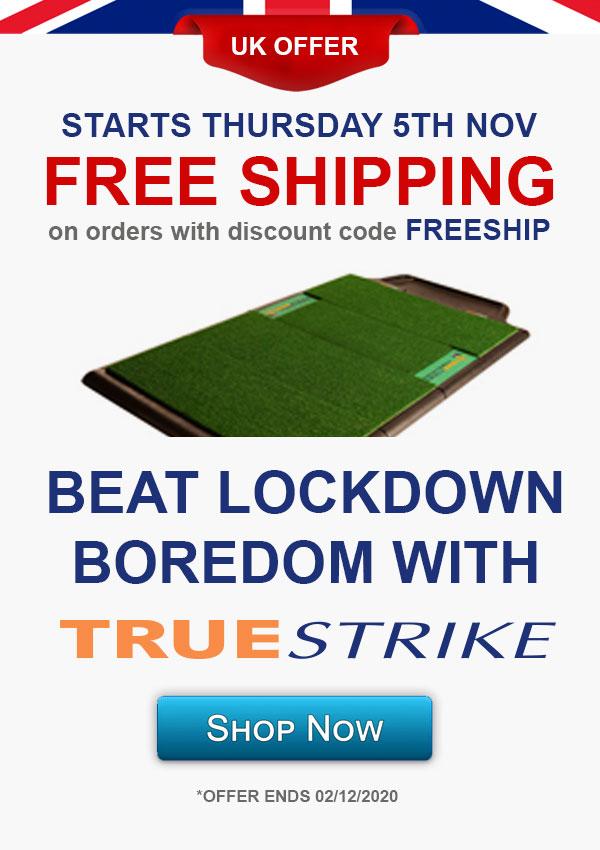 Free Shipping for UK Orders of TrueStrike