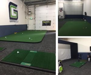 ProPutt Systems - Golf Rooms featuring the TrueStrike Golf Mat
