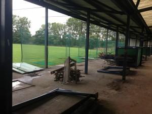 Liverpool Golf Driving Range - Before Range Refurbishment