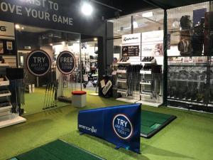 American Golf Store with TrueStrike Golf Mats